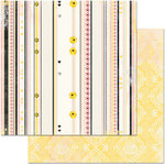 BoBunny - Petal Lane Collection - 12 x 12 Double Sided Paper - Fanciful