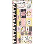 BoBunny - Petal Lane Collection - Cardstock Stickers