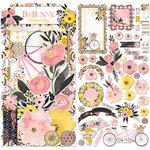 BoBunny - Petal Lane Collection - Noteworthy Journaling Cards