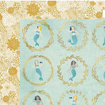 BoBunny - Down By The Sea Collection - 12 x 12 Double Sided Paper - Down By The Sea