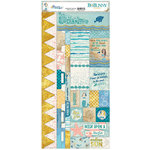 BoBunny - Down By The Sea Collection - Cardstock Stickers