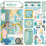 BoBunny - Down By The Sea Collection - Noteworthy Journaling Cards