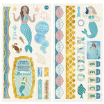 BoBunny - Down By The Sea Collection - Chipboard Stickers