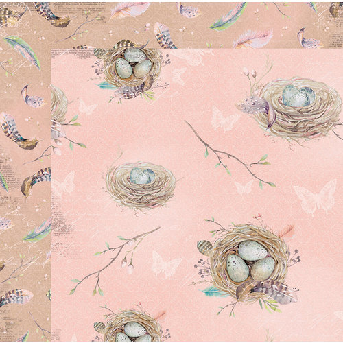 BoBunny - Serendipity Collection - 12 x 12 Double Sided Paper - Branches