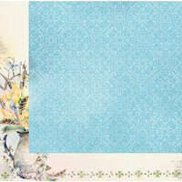 BoBunny - Serendipity Collection - 12 x 12 Double Sided Paper - Take Flight