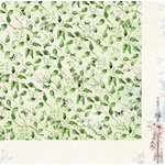 BoBunny - Serendipity Collection - 12 x 12 Double Sided Paper - Treetops