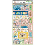 BoBunny - Serendipity Collection - Cardstock Stickers