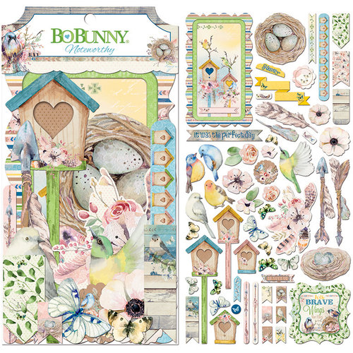 BoBunny - Serendipity Collection - Noteworthy Journaling Cards