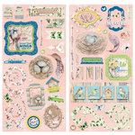 BoBunny - Serendipity Collection - Chipboard Stickers