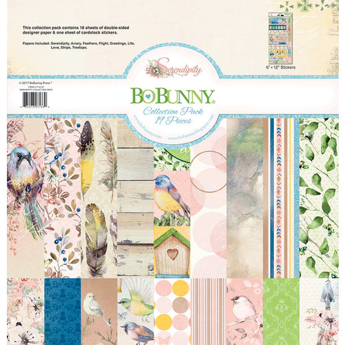 BoBunny - Serendipity Collection - 12 x 12 Collection Pack
