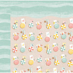 BoBunny - Weekend Adventure Collection - 12 x 12 Double Sided Paper - Beachy