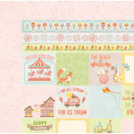 BoBunny - Weekend Adventure Collection - 12 x 12 Double Sided Paper - Bear Hug