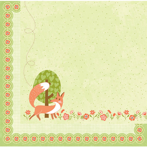 BoBunny - Weekend Adventure Collection - 12 x 12 Double Sided Paper - Play Date
