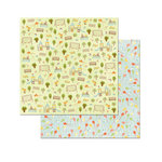 BoBunny - Weekend Adventure Collection - 12 x 12 Double Sided Paper - Swingset