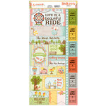 BoBunny - Weekend Adventure Collection - Cardstock Stickers