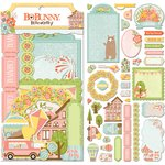 BoBunny - Weekend Adventure Collection - Noteworthy Journaling Cards