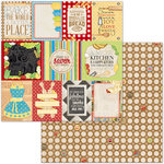 BoBunny - Family Recipes Collection - 12 x 12 Double Sided Paper - Family Recipes