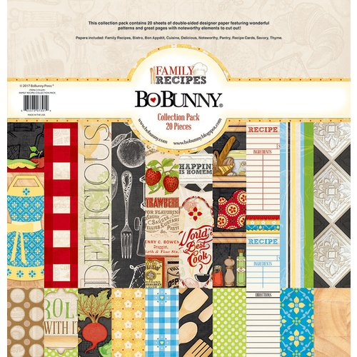 BoBunny - Family Recipes Collection - 12 x 12 Collection Pack