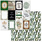 BoBunny - Garden Party Collection - 12 x 12 Double Sided Paper - Celebrate