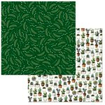 BoBunny - Garden Party Collection - 12 x 12 Double Sided Paper - Lush