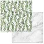 BoBunny - Garden Party Collection - 12 x 12 Double Sided Paper - Nature