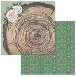 BoBunny - Garden Party Collection - 12 x 12 Double Sided Paper - Rustic