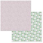 BoBunny - Garden Party Collection - 12 x 12 Double Sided Paper - Serenity