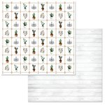 BoBunny - Garden Party Collection - 12 x 12 Double Sided Paper - Whimsy