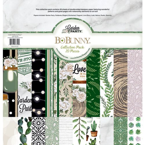 BoBunny - Garden Party Collection - 12 x 12 Collection Pack