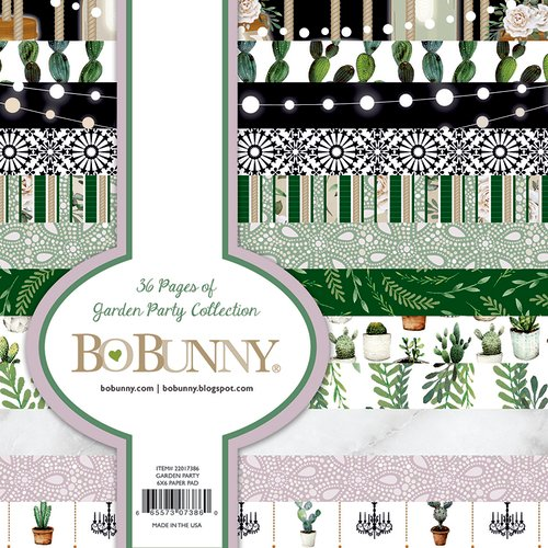 BoBunny - Garden Party Collection - 6 x 6 Paper Pad
