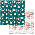 BoBunny - Fa La La Collection - Christmas - 12 x 12 Double Sided Paper - Fa La La