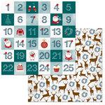 BoBunny - Fa La La Collection - Christmas - 12 x 12 Double Sided Paper - Countdown