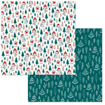 BoBunny - Fa La La Collection - Christmas - 12 x 12 Double Sided Paper - Holiday Hoot