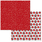BoBunny - Fa La La Collection - Christmas - 12 x 12 Double Sided Paper - Sleigh Ride