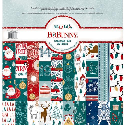 BoBunny - Fa La La Collection - Christmas - 12 x 12 Collection Pack