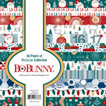 BoBunny - Fa La La Collection - Christmas - 6 x 6 Paper Pad