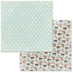 BoBunny - Carousel Christmas Collection - 12 x 12 Double Sided Paper - Joy