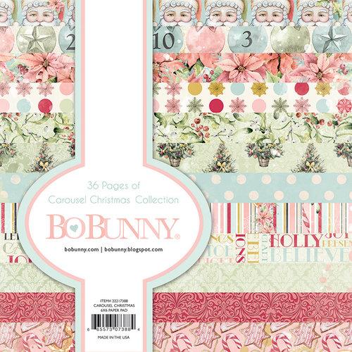 BoBunny - Carousel Christmas Collection - 6 x 6 Paper Pad