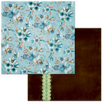 BoBunny - Penelope Collection - 12 x 12 Double Sided Paper - Penelope