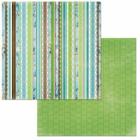 BoBunny - Penelope Collection - 12 x 12 Double Sided Paper - Beauty