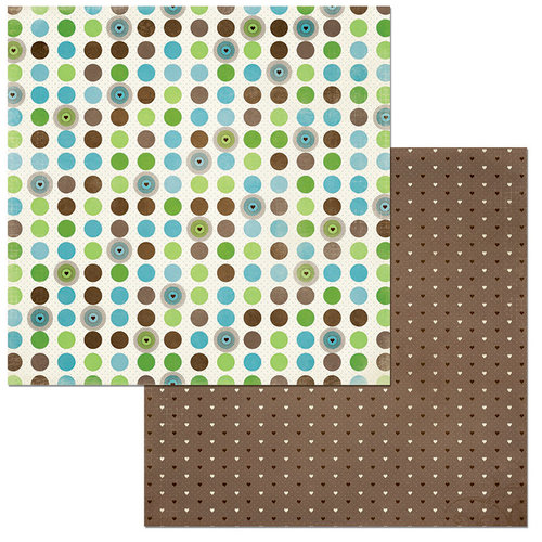 BoBunny - Penelope Collection - 12 x 12 Double Sided Paper - Dots