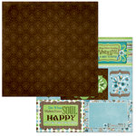 BoBunny - Penelope Collection - 12 x 12 Double Sided Paper - Moments