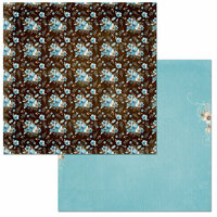 BoBunny - Penelope Collection - 12 x 12 Double Sided Paper - Wonderful
