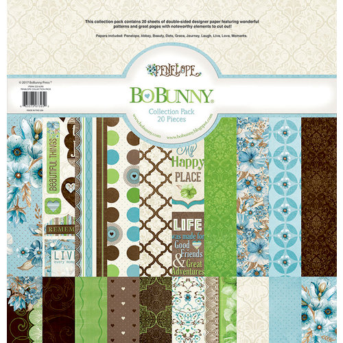 BoBunny - Penelope Collection - 12 x 12 Collection Pack