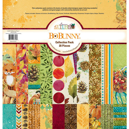 Bo Bunny Dreams of Autumn Collection Kit 12x12