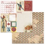 BoBunny - On This Day Collection - 12 x 12 Double Sided Paper - On This Day in July