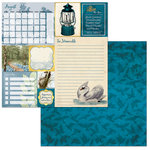 BoBunny - On This Day Collection - 12 x 12 Double Sided Paper - On This Day in August