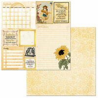 BoBunny - On This Day Collection - 12 x 12 Double Sided Paper - On This Day in September