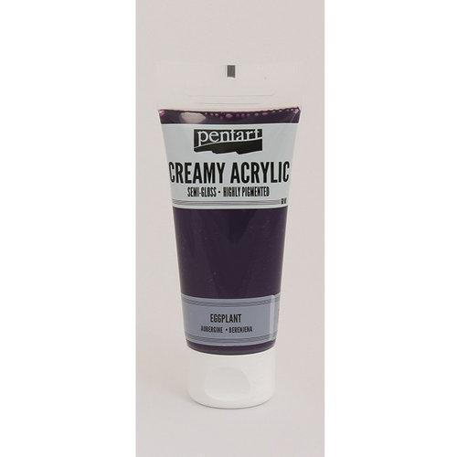 BoBunny - Pentart - Acrylic Paint - Semi-Gloss - Eggplant