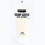 BoBunny - Pentart - Acrylic Paint - Semi-Gloss - Cream